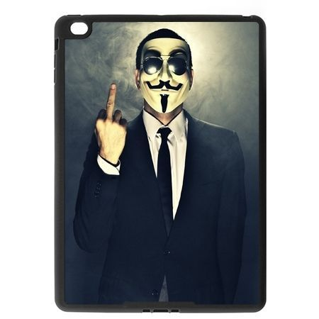 Etui na iPad Air 2 case Anonimus fuck you