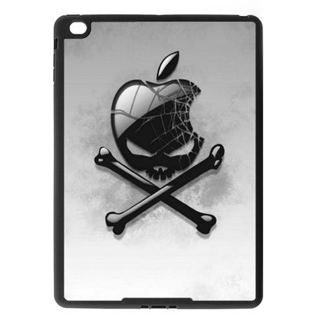 Etui na iPad Air 2 case Logo apple czaszka