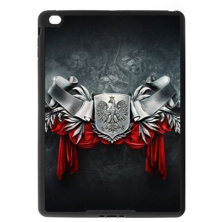 Etui na iPad Air 2 case stalowe godło