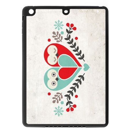 Etui na iPad mini case sowy wycinanka