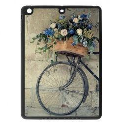 Etui na iPad mini case rower z kwiatami