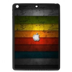 Etui na iPad mini 2 case kolorowe pasy z logo apple