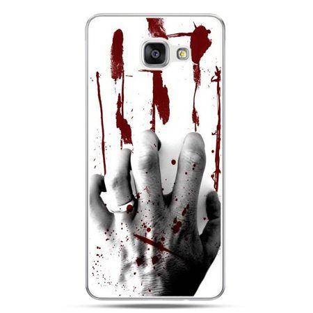 Galaxy A5 (2016) A510, etui na telefon zakrwawiona ręka