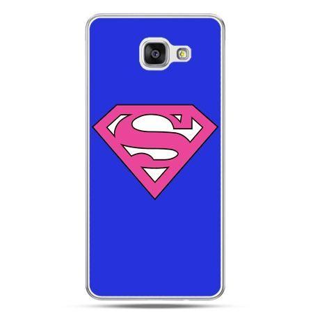 Galaxy A5 (2016) A510, etui na telefon Supergirl