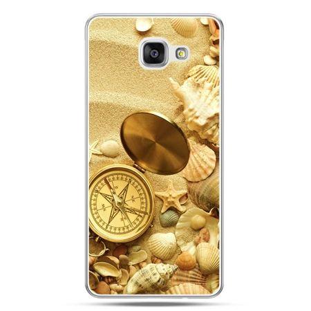 Galaxy A5 (2016) A510, etui na telefon kompas na plaży