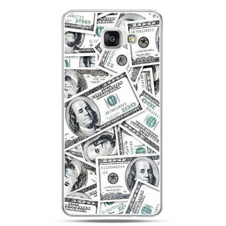 Galaxy A5 (2016) A510, etui na telefon dolary banknoty