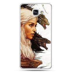Galaxy A7 (2016) A710, etui na telefon Gra o Tron Daenerys Targaryen