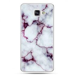 Galaxy A7 (2016) A710, etui na telefon różowy marmur