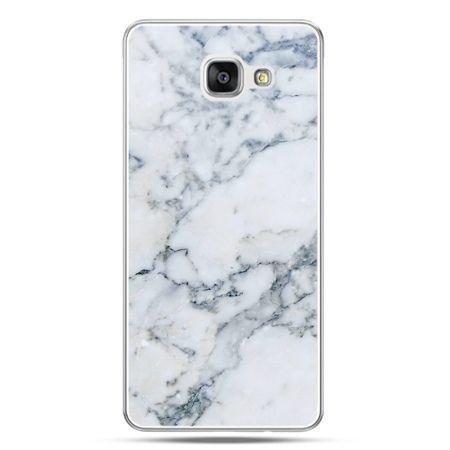 Galaxy A7 (2016) A710, etui na telefon biały marmur