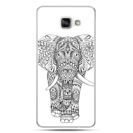 Galaxy A7 (2016) A710, etui na telefon Indyjski słoń