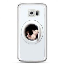 Etui na telefon Galaxy S7 miś w pralce
