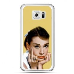 Etui na telefon Galaxy S7 Audrey Hepburn Fuck You