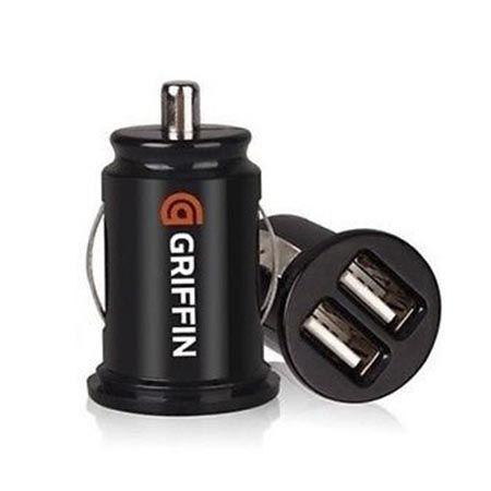 Ładowarka samochodowa Griffin 2x USB - 2.1A czarna.
