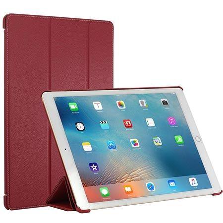 Etui na iPada Pro Stilgut Smart Cover skóra czerwone.