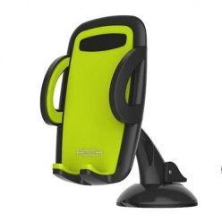 ROCK uniwersalny uchwyt samochodowy na telefon - zielony.