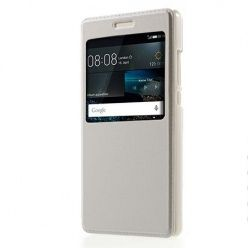 Huawei P8 Lite etui Flip S View z klapką - białe.