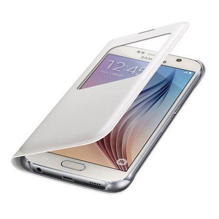 Etui na Samsung Galaxy S7 Edge - flip S-View z klapką - Biały