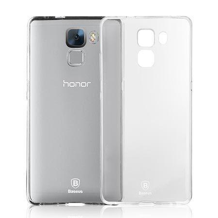 Honor 7 silikonowe etui crystal case przezroczyste.
