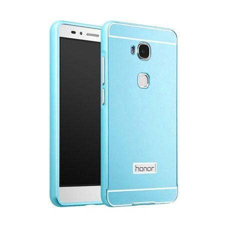 Bumper case na Huawei Honor 5X - Niebieski PROMOCJA !!!