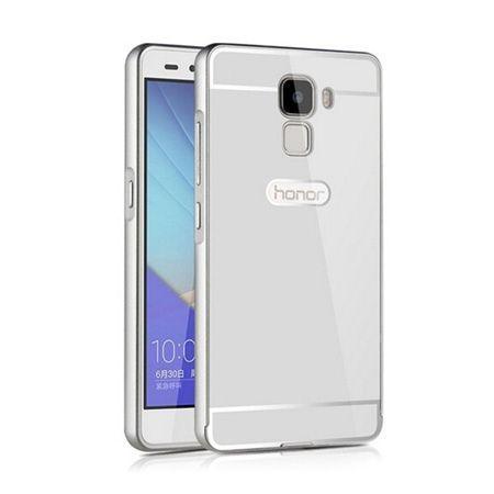 Bumper case na Huawei Honor 7 - Srebrny