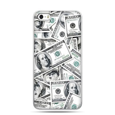 iPhone 5 , 5s etui na telefon dolary banknoty