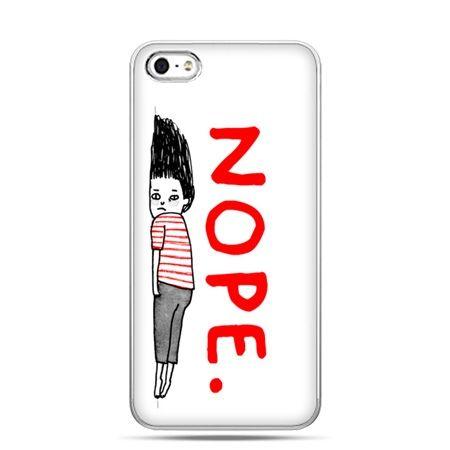 iPhone 5 , 5s etui na telefon Nope