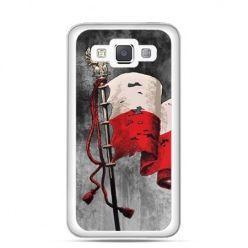 Etui na telefon Galaxy a5 patriotyczne - flaga Polski