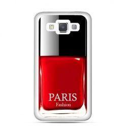 Etui na Galaxy A5 lakier do paznokci czerwony