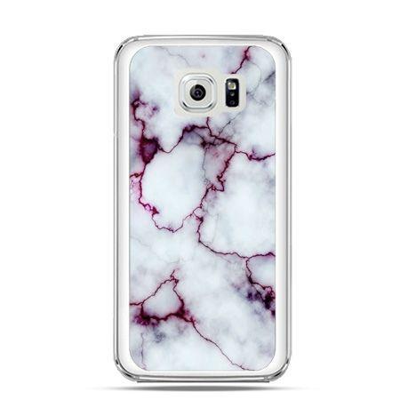 Etui na Galaxy S6 Edge różowy marmur