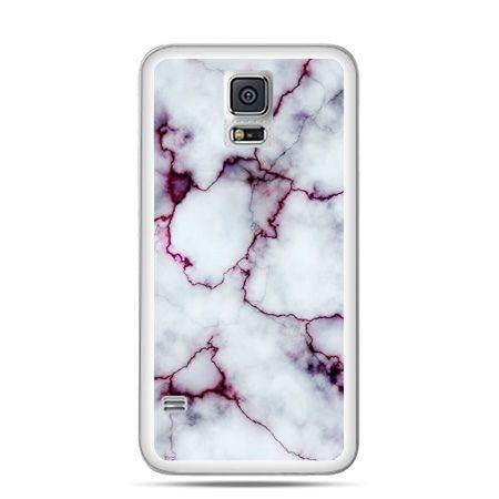 Etui na Galaxy S5 różowy marmur