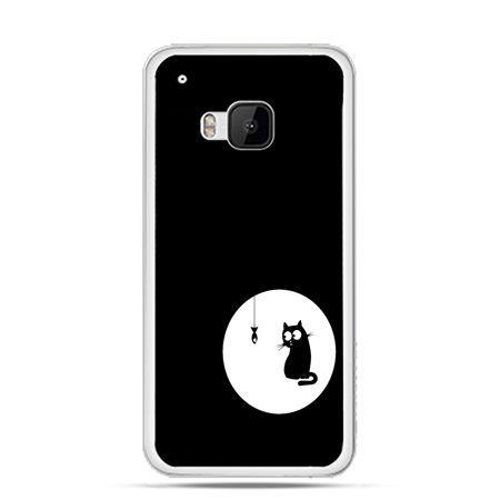 Etui na HTC One M9 kotek