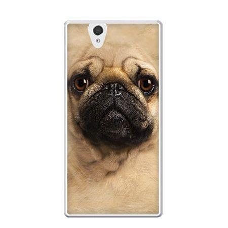 Etui na Xperia Z pies szczeniak Face 3d