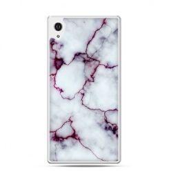 Xperia Z1 etui różowy marmur