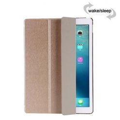 Etui na iPad Air Silk Smart Cover z klapką - złote.