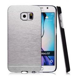 Galaxy S7 Edge etui Motomo aluminiowe srebrny. PROMOCJA !!!