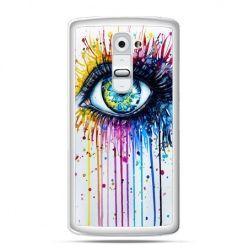 Etui na telefon LG G2 kolorowe oko