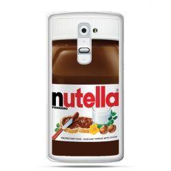 Etui na telefon LG G2 Nutella czekolada słoik