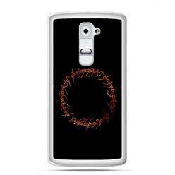 Etui na telefon LG G2 Lord Of The Rings napis