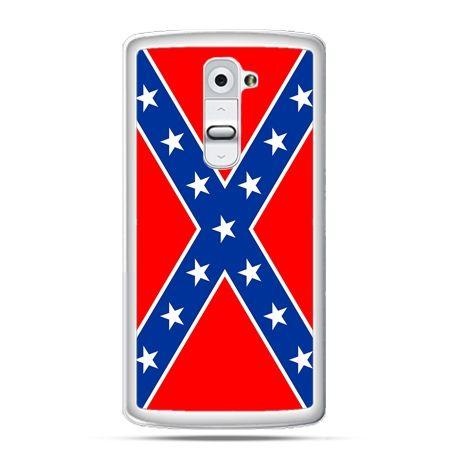 Etui na telefon LG G2 flaga konfederacji