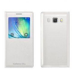 Samsung Galaxy J5 2016 etui Flip S View z klapką białe.