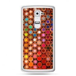 Etui na telefon LG G2 kolorowe kredki