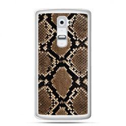 Etui na telefon LG G2 wąż boa