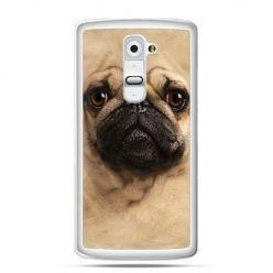 Etui na telefon LG G2 pies szczeniak Face 3d