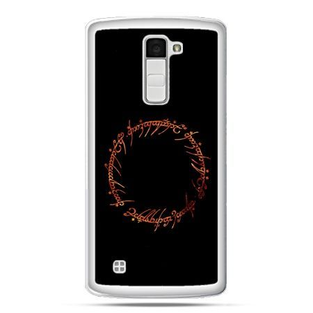 Etui na telefon LG K10 Lord Of The Rings napis