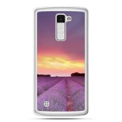 Etui na telefon LG K10 wrzosowisko