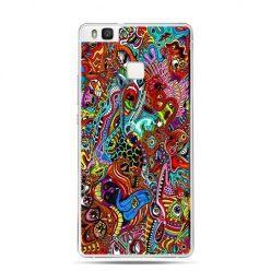 Etui na Huawei P9 Lite kolorowy chaos