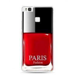 Etui na Huawei P9 Lite lakier do paznokci, czerwony.