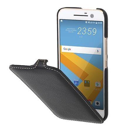 Etui na HTC M10 Stilgut SlimCase skórzane z klapką czarne.