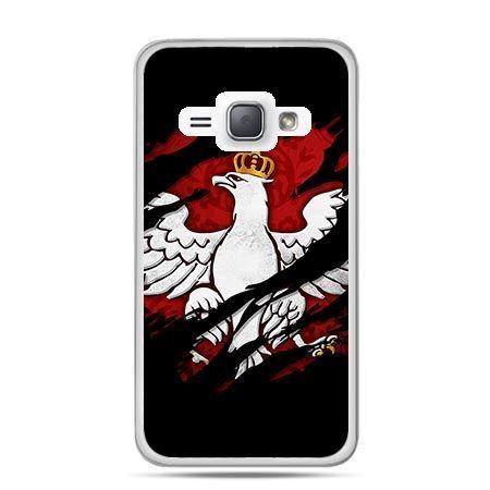 Etui na telefon Galaxy J1 (2016) patriotyczne - Polski Orzeł