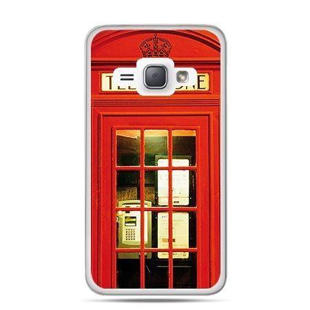 Etui na Galaxy J1 (2016r) Czerwona Budka Telefoniczna.